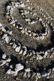 Spirale en pierre Photo libre de droits