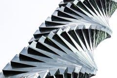 Spirale en verre Image libre de droits