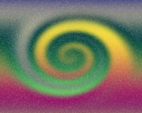 Spirale felice di energia del fondo astratto Immagini Stock