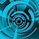 Spirale fraîche Photo libre de droits