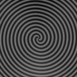Spirale grigia Fotografie Stock Libere da Diritti