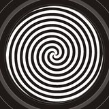 Spirale hypnotique illustration stock