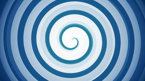 Spirale hypnotique banque de vidéos