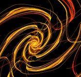 Spirale incandescente Fotografie Stock