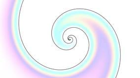 Spirale infinita Metraggio senza cuciture del ciclo archivi video