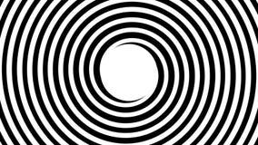 Spirale ipnotica illustrazione di stock