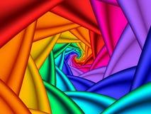 Spirale lumineuse Image libre de droits