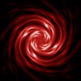 Spirale rouge abstraite Photo libre de droits