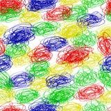 Spirale sans couture d'Abstact de mod?le colorfulScribble pour le fond, l'enveloppe de papier, la banni?re etc. illustration libre de droits