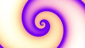 Spirale sans fin Longueur sans couture de boucle banque de vidéos