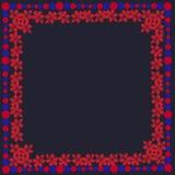 Spirale senza cuciture della decorazione della struttura del modello del fiore di bellezza di estate dell'estratto senza cuciture Fotografia Stock