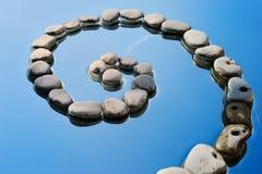 Spirale und der Himmel Lizenzfreies Stockfoto