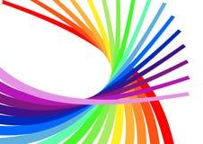 Spirale variopinta Fotografia Stock