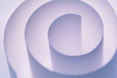 Spirale viola Immagine Stock
