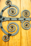 Spiraled Door Design Stock Image
