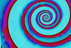 Spiralen 2 vector illustratie