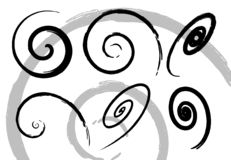Spiralen Stockfotografie