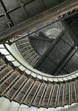 Spiralen en krommen stock afbeelding