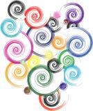 Spirales illustration de vecteur