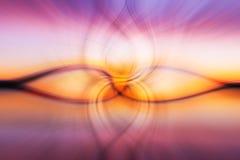 Spirales abstraites colorées Images libres de droits