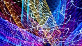 Spirales heureuses colorées abstraites Photos libres de droits