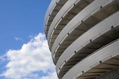 Spiralförmiger Parkenzugriff Stockbilder