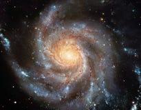 Spiralgalax Arkivbilder