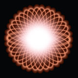 spiralgraph projektu Zdjęcia Stock