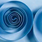 Spirali blu Immagini Stock