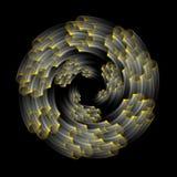Spirali dinamiche Immagine Stock Libera da Diritti