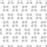 Spirali nere fotografia stock libera da diritti