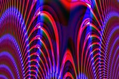 Spirali uniche multicolori Immagini Stock Libere da Diritti