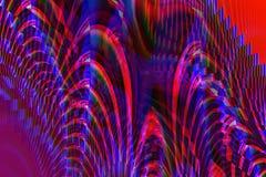 Spirali uniche multicolori Fotografia Stock Libera da Diritti