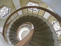 spiraling Στοκ Εικόνες