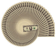 Spiraling inflation Stock Photos