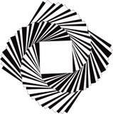 Spiraling Squares Stock Image