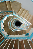 Spiraling stairs Stock Photo