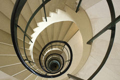 Spiraling stairs Royalty Free Stock Photography