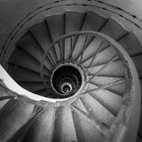Spiraling stairs Royalty Free Stock Image