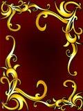 Spiraling upward nature ornament. Colourful exotic spiraling upward nature design ornament background Stock Photos