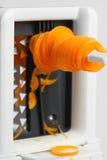 Spiralizer carrot Royalty Free Stock Photo