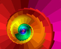 spiralmoment Royaltyfri Bild