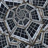 Spiraloid venster Royalty-vrije Stock Fotografie