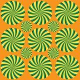 Spiralrotationsstrålar Royaltyfri Foto