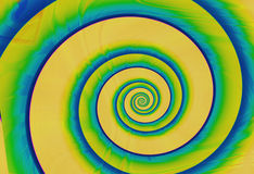 Spirals. Abstract background stock illustration