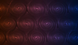Spirals abstract background Royalty Free Stock Photography