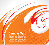 Spirals background Royalty Free Stock Images