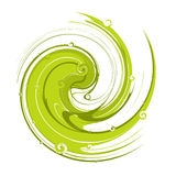 Spirals background Royalty Free Stock Photos