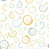 Spirals background Stock Photo