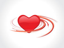 Spirals heart Royalty Free Stock Images